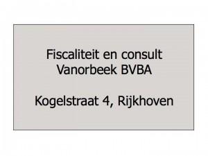 Vanorbeek